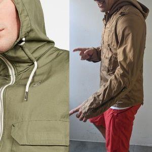 Gstar RAW hooded Navigator Sahara summer jacket xl